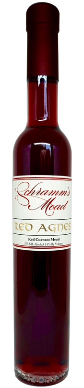 Red Agnes Mead - Bottle of Red Agnes Mead